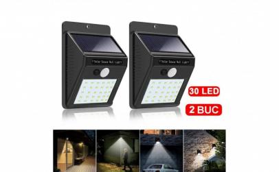 2 buc x Lampa solara