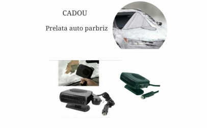 Aeroterma auto+ Prelata auto parbriz