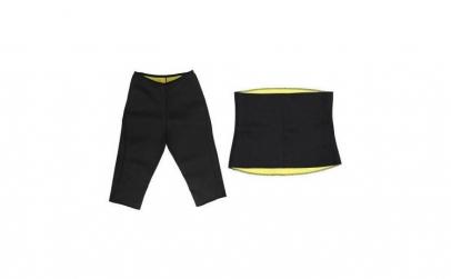 Pantalon + centura pentru slabit