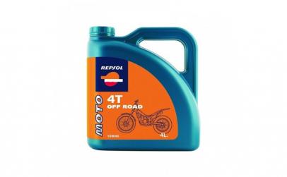 Ulei MOTO OFF ROAD 4T 10W 40  4L Repsol