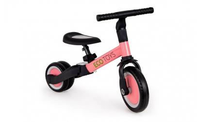 Tricicleta si bicicleta 4 in 1 Ecotoys