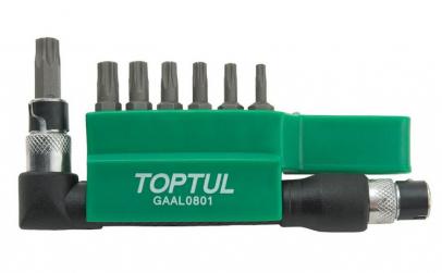 Set biti torx special T10-T40. 30mm 8