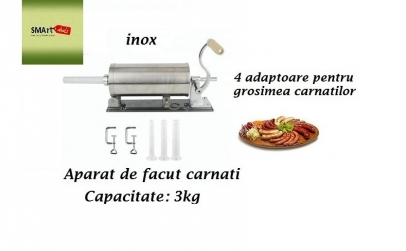 Aparat de facut carnati - 3 kg