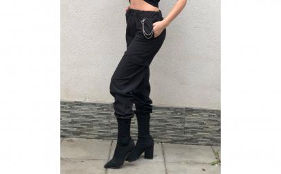 Pantaloni - Kellp Black Bogas