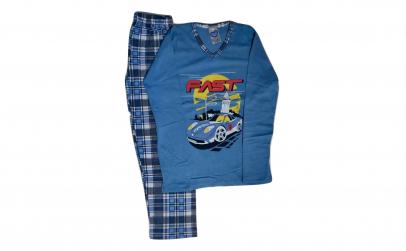 Pijama de baieti din Bumbac