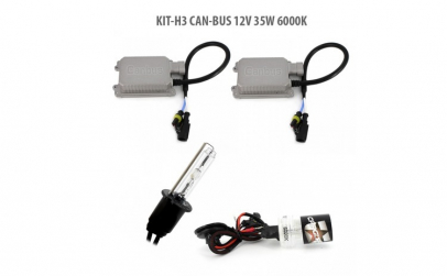 H3 CAN-BUS 12V 35W 6000K