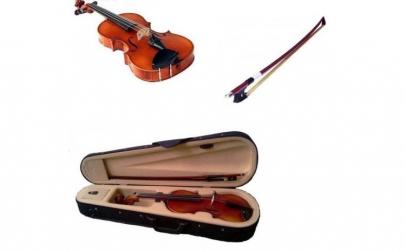Vioara clasica din lemn 1/4 toc inclus