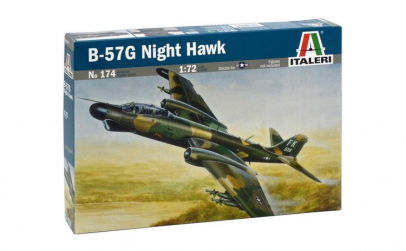 Macheta auto Italeri, B-57G NIGHT HAWK