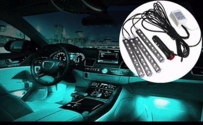 Set 4 benzi LED RGB Auto
