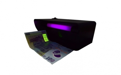 Tester bancnote uv 4w