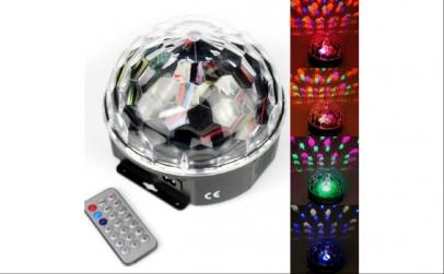 Glob disco cu lumini