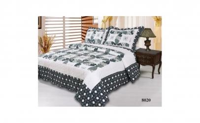 Set cuvertura de pat si 2 fete de perna