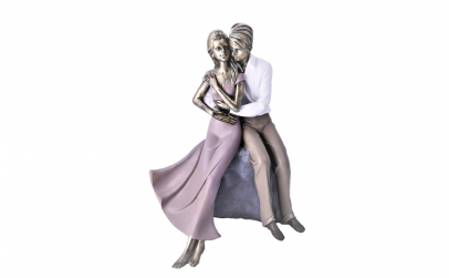 Statueta Malooki - Cuplu