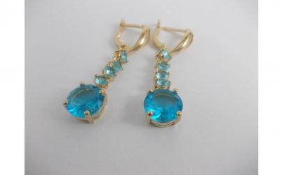 Cercei Luxury Aquamarine Crystal