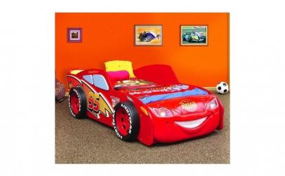 Patut in forma de masina McQueen MDF -