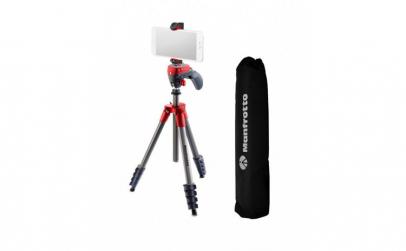 Manfrotto kit trepied foto-video cu