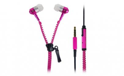 Casti audio cu microfon Zipper