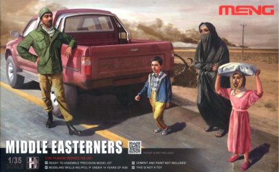 1:35 Middle Easterners in The Street -