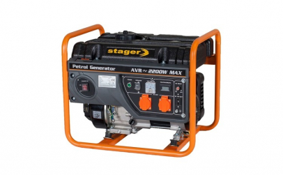 Stager GG 2800 generator open-frame 2kW,