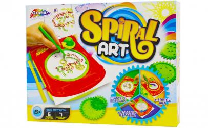Joc creativ, spiral art
