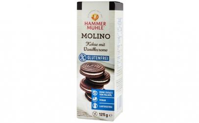 Molino, biscuiti cu crema de vanilie,