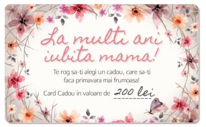 CARD CADOU in valoare de 200 RON