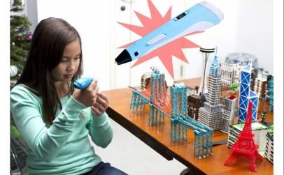 Creion 3D Magic cu afisaj si filamente