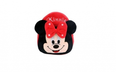 Ghiozdan din plus Minnie Mouse