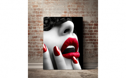 Tablou canvas Red Desire, 70 x 100cm