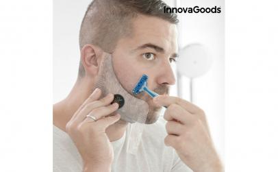 Sablon de barba pentru barbierit