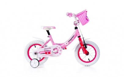"Bicicleta MAGELLAN Candy 12"" roz/alb"