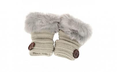 Manusii tricotate fara degete cu