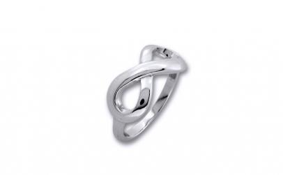 Inel argint 925 rodiat cu simbolul