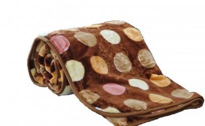 Patura grofata mare de 200x230 cm