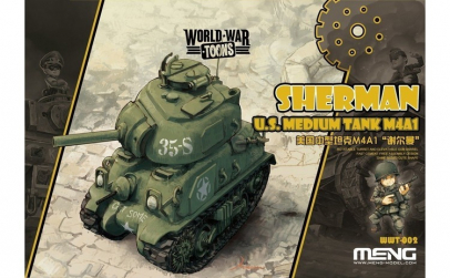 U.S. Medium Tank M4A1 Sherman -