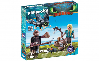 Playmobil Dragons - Hiccup, Astrid