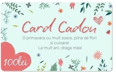 CARD CADOU in valoare de 100 RON