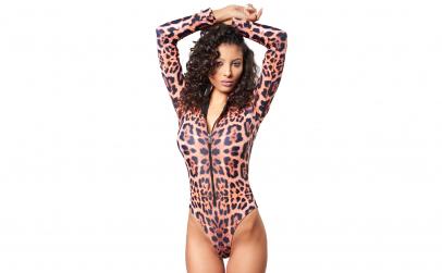 Costum baie Scuba Leopard