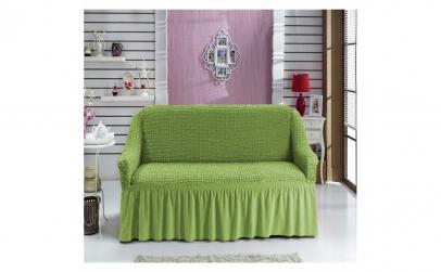 Husa pentru canapea 2 locuri, verde