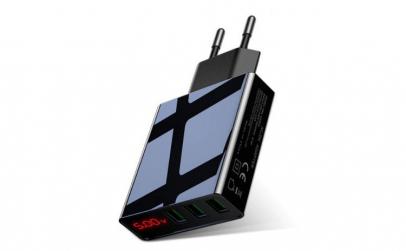 Incarcator Techstar® 3 Porturi USB  3A