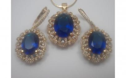 Set bijuterii Glamour Sapphire
