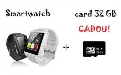 Smartwatch & Telefon + Card 32GB CADOU