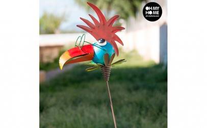 Pasăre Metalică Decorativă pentru