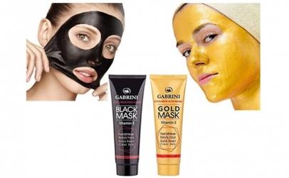 Masca neagra + masca de aur