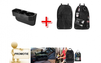 Suport pahare auto + Organizator