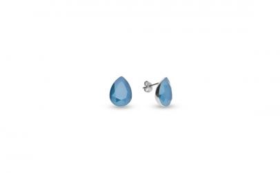 Cercei Pear Mini Azure Blue