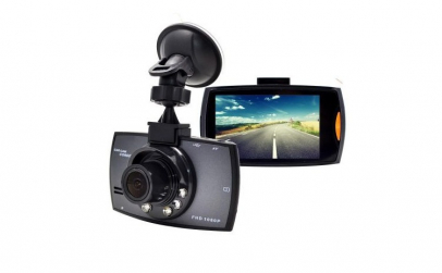 Camera Video Auto Night Vision, negru