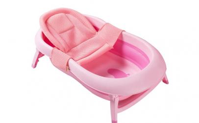 Cadita pliabila cu hamac pentru bebelusi