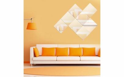 Stickere decorative cu efect de oglinda