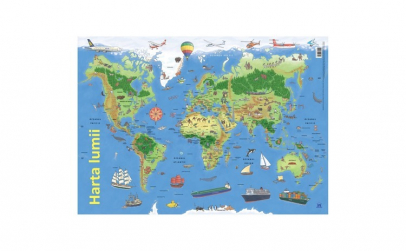 Harta lumii - plansa